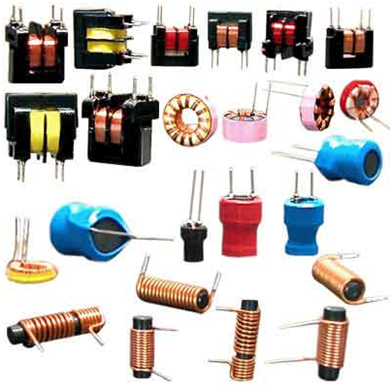 Ferromagnetic core inductors