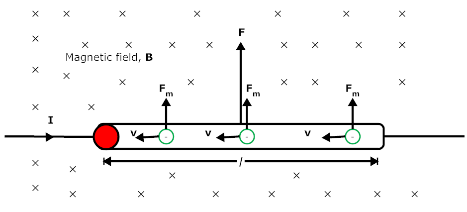 Force on a Current Carrying Wire in a Magnetic Field