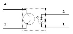 Optocoupler Circuit diagram