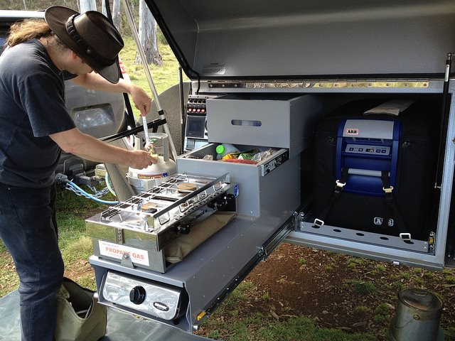 Refrigerator For Camping