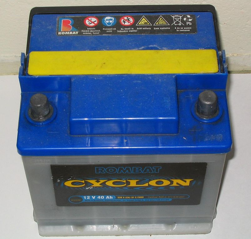 Flooded lead acid deep cycle battery for RV