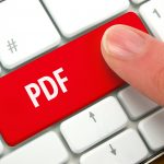 how to save something as a pdf
