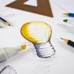 lightbulb sketch