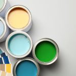 color swatches and paint