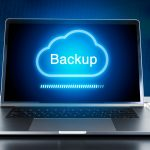 backup cloud on computer